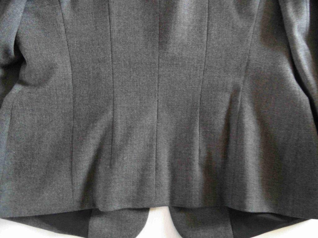 DINOMODA klassischer dunkelgrauer Blazer Gr. 38 w. NEU NEU NEU KS3   Up-to-date Styling    Schöne Kunst    Um Sowohl Die Qualität Der Zähigkeit Und Härte  2dce1f
