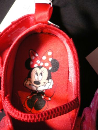 MiNNie MoUSe~SoFt~Costume~SHOES~ReD or PiNK~POLKA DOT~InFanT~0-2yr~Disney Store