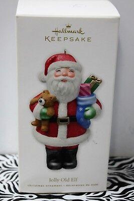Hallmark 2011 Jolly Santa Ornament
