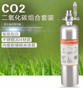 Details about Aquarium DIY CO2 Citric acid and Baking soda Canister,CO2  Regulator, solenoid