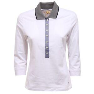 f129e735dbcdac 9215V maglia donna polo FAY white polo t-shirt woman | eBay