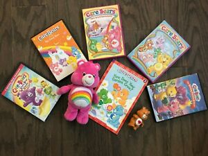 Care-Bear-Collection-Plush-toy-5-DVDs-book-FUN