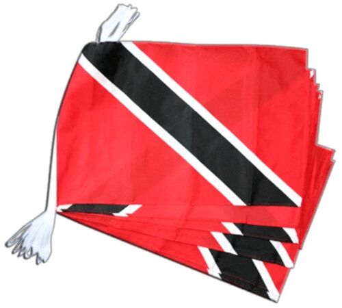 Fahnenkette Flaggenkette Girlande Trinidad und Tobago Fahnen Flaggen 30x45cm