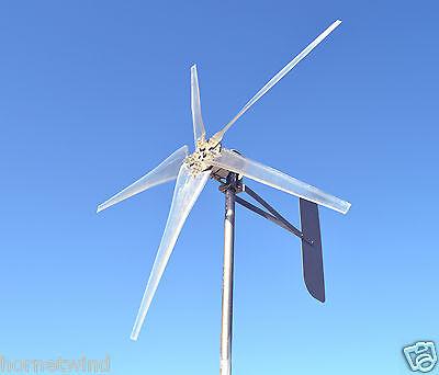 KT5 Roller Wind Turbine LOW SC 5 Blade 1685W 12 volt DC 2 wire 14 magnet 6.3 kWh