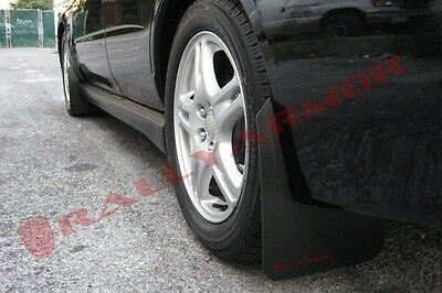 Rally Armor 02-07 Subaru WRX /STI /RS /2.5i Basic Mud Flaps Kit w/ RED Logo
