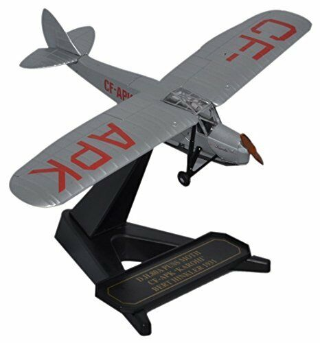 Oxford Diecast 1 72 Scale  DH Puss Moth CF-APK Bert Hinkler Model Airplane