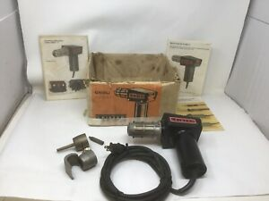 Leister-GHIBLI-Kagiswil-Heat-Gun-Hot-Air-Blower-IN-BOX-W-PAPERS-TESTED-WORKS