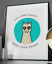 Drama Llama Inspirational Quote Poster Art Print A3 A4 A5 A6 Decor Gift Wall Her