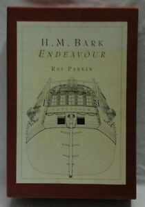 H-M-Bark-ENDEAVOR-by-Ray-Parkin-HC-VGC-maps-s-case-Postage-Fast-amp-FREE-Ask-Agnes