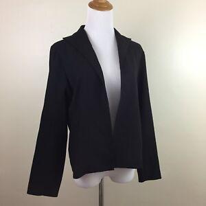 A63 à 100 Fisher longues Veste pour laine Eileen noire femmes noire manches twPn18