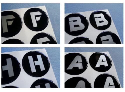 h60//1 4x H emblemi COPRIMOZZO PER CERCHIONI COPERCHIO 60mm in Silicone Adesivo