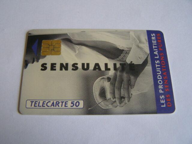 telecarte produits laitiers sensualité 50u ref phonecote F327