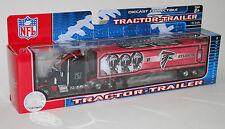 NFL Football Semi Truck Tractor Trailer Hauler Collectible Atlanta Falcons