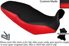 RED & BLACK CUSTOM FITS APRILIA PEGASO STRADA 650 05-09 DUAL SEAT COVER