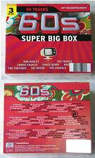 60´s SUPER BIG BOX - Association, Four Pennies,... 50 Titel 3-CD-Box OVP/SEALED
