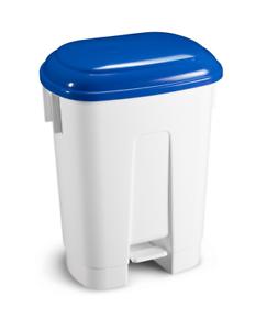 TTS Abfalleimer Derby 60 Liter Deckel blau Mülleimer Abfallbehälter mit Pedal - Althengstett, Deutschland - TTS Abfalleimer Derby 60 Liter Deckel blau Mülleimer Abfallbehälter mit Pedal - Althengstett, Deutschland
