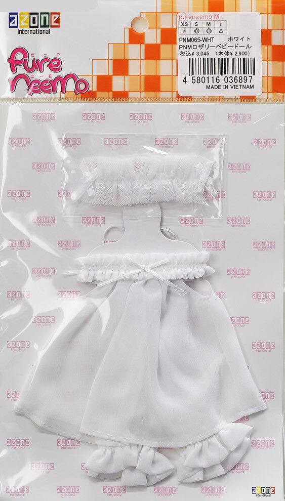 AZONE Pure Neemo Baby Doll dress S M body Weiß Momoko Obitsu 1/6 + schuhe