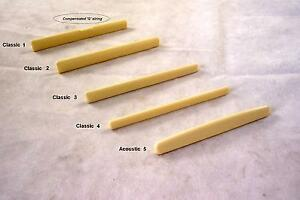 ACOUSTIC-CLASSICAL-GUITAR-BRIDGE-SADDLE-CHOOSE-FROM-5-STYLES