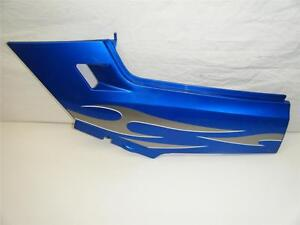07-Kawasaki-Ninja-250R-EX250-Ex-250-R-Bleu-Plastique-Cadre-Panneau-Left-Cote-De
