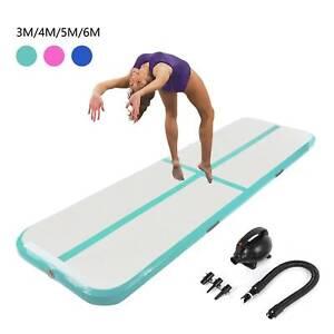 3M-4M-5M-6M-Turnmatte-Air-Track-Tumbling-Matte-Aufblasbar-Gymnastikmatte-Pumpe