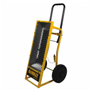 Dewalt Heavy Duty 45000 BTU Radiant Heat Propane Portable Work Job Site Heater