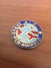 International Police Association Coin / Medal I P A Servo per Amikeco