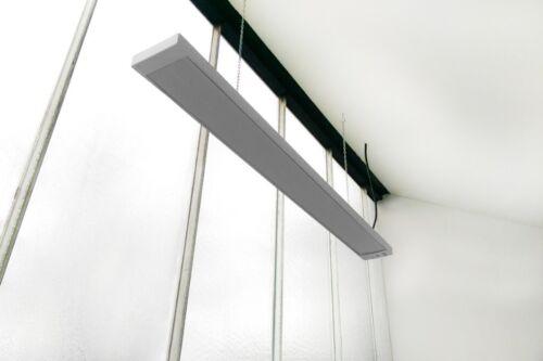 INFRAROTHEIZUNG  600 Watt Infrarotstrahler Terrasen-Wärme HDW Dunkelstrahler