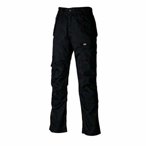 NAVY Trade Trouser Dickies WD801 Redhawk Pro Work Trousers Premium BLACK