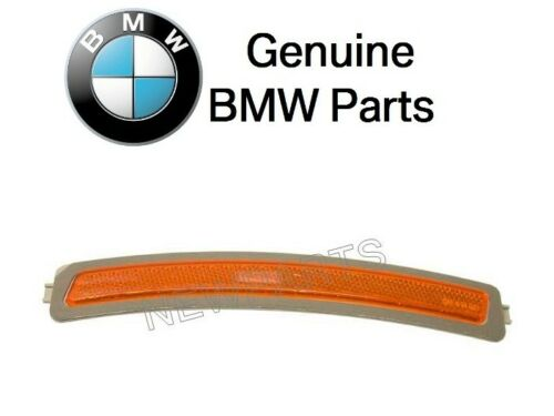 For BMW G11 G12 740e 740i 750i Front Passen Right Bumper Cover Reflector Yellow