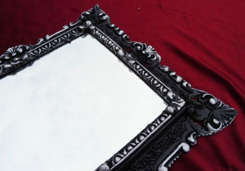 Baroque Cadre Cadre photo pour les images 29x22 cm Noir Blanc Cadre Photo 45x38 cm