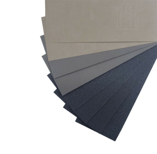 90 Pcs Car Automobile 15 Kinds Wet Dry Sandpaper 80-3000 Grit Assortment 9x3.6/'/'