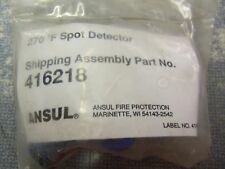 Ansul 270 Degree F Spot Detector 416218 New Free Shipping