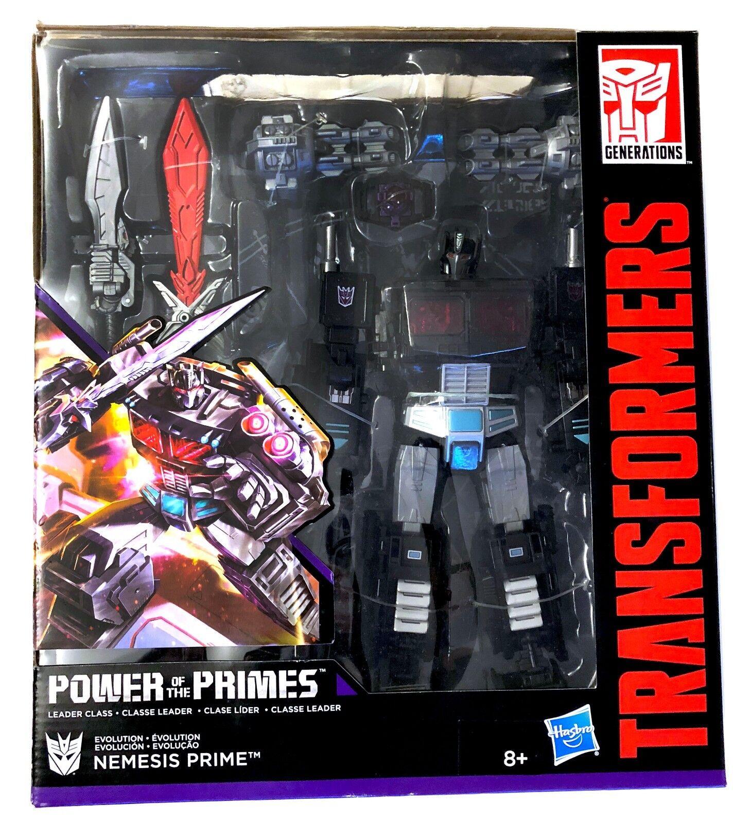 Transformers Transformers Transformers potp potenza dei numeri primi leaderclass NEMESIS PRIME d0b7cf