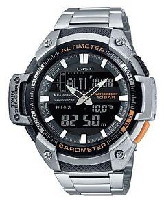 Casio-SGW-450HD-1BE-Orologio-Uomo-Altimetro-Barometro-Termometro-5-Sveglie-Timer