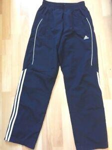 Détails sur ADIDAS Jogging pantalon de sport bleu marine Taille XS (36)