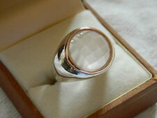 Clogau Silver & Welsh Gold Ripples Ring RRP £139.00 size P