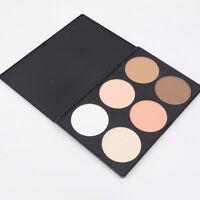 6 Color Makeup Cosmetic Blush Blusher Contour Palette Makeup Pressed Powder P2