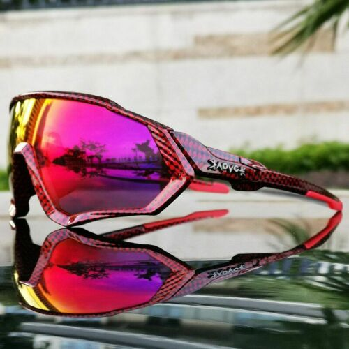 Unisex Cycling Sunglasses Polarized Sports Goggles Bicycle Mountain Bike Eye Wea