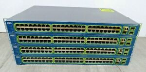 4-X-Cisco-Catalyst-3560-Series-WS-C3560-48TS-S-48-Port-Switch-VGC
