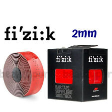 Fizik Bar Tape  SUPERLIGHT Classic Touch Microtex 2mm Glossy Red