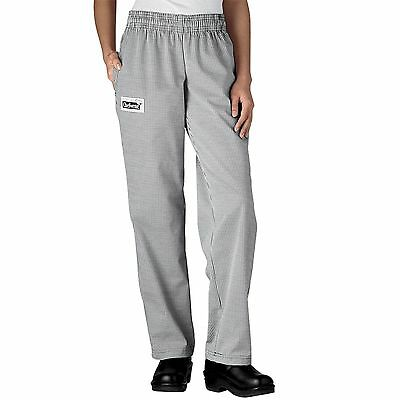 European Houndstooth all sizes XS-5XL NEW! Chefwear 3200-11 Cargo Chef Pant