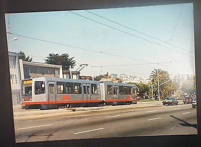 Railways Poster San Francisco Metro Muni -vera Foto Su Pannello Alluminio 69x49