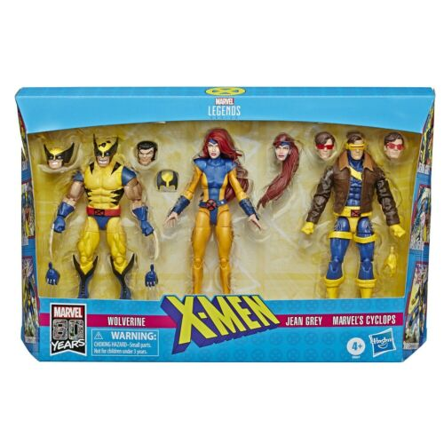 "Marvel Legends 6/"" X-Men Wolverine Love Triangle Jean Grey /& Cyclops 3 Pack"