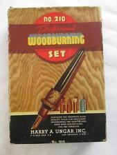 "Vintage Toy - Ungar Inc #210 ""Professional Woodburning Set"" - In Box / Works"