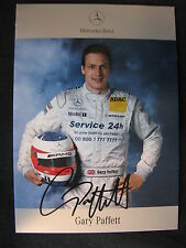 Card Gary Paffett (GBR) AMG Mercedes DTM Team 2003 (MBC)