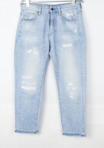 G-STAR RAW Women 3301 Mid Boyfriend 7/8 Stretch Jeans Size W26 L26