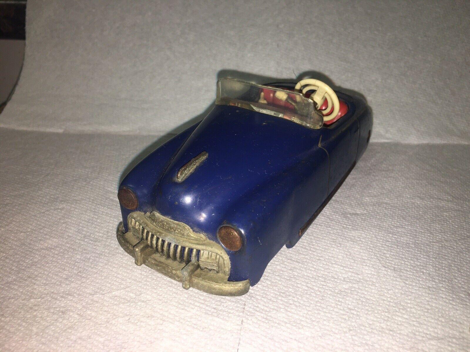 Vintage Schuco Tacho-Examico 4002 German Wind Up Toy Car