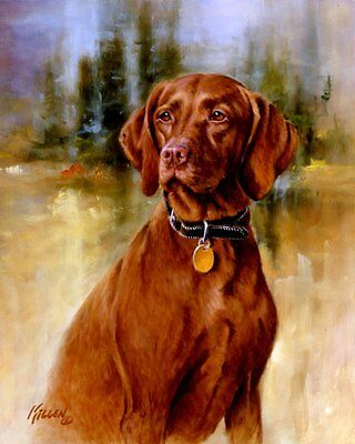 """LABRADOR BLACK DOG HUNT on ONE 16/"""" Fabric Panel by Killen to Sew Pic is 8/""""x11/"""""""