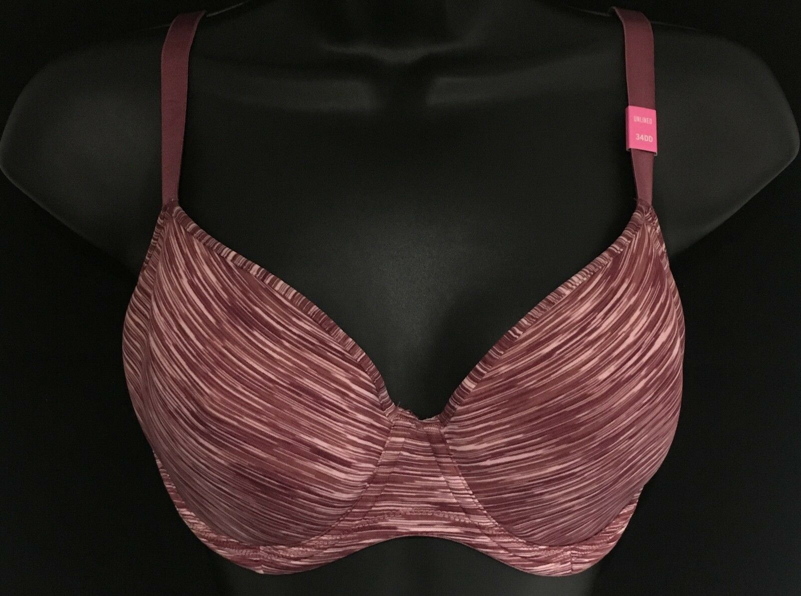 Victoria's Secret Pink Unlined Bra (34DD)