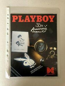 Playboy 35th Anniversary Flyer..Original